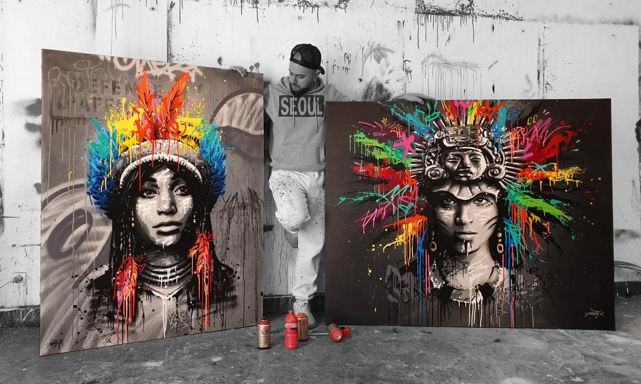 Artiste Peintre St Tropez seaty / artiste peintre